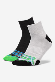 Men's Active Pro COOLMAX® Quarter Socks - 2 Pack in Blue