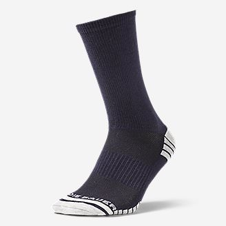 Men's Active Pro COOLMAX® Crew Socks in Blue
