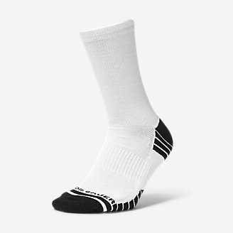 Men's Active Pro COOLMAX Crew Socks in White
