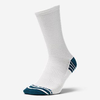 Men's Active Pro COOLMAX Crew Socks in Blue