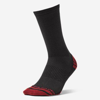 Men's Active Pro COOLMAX Crew Socks in Red