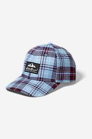 Eddie's Favorite Flannel Cap in Red