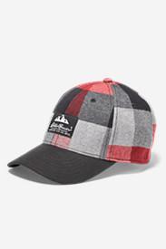 Eddie's Favorite Flannel Cap in Red