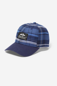 Eddie's Favorite Flannel Cap in Blue
