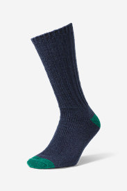 Men's Ragg Boot Socks in Blue