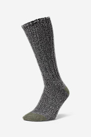 Men's Ragg Boot Socks in Green