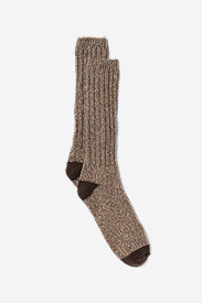 Men's Ragg Boot Socks in Brown