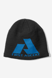 Telemetry First Ascent Beanie in Black
