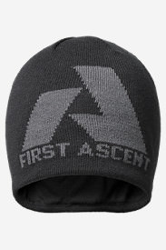 Telemetry First Ascent Beanie in Gray