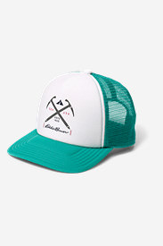 Graphic Cap - Ice Axe in Green