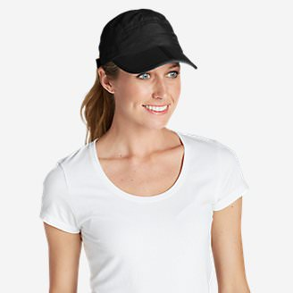 Women's Resolution Packable UPF Cap in Black