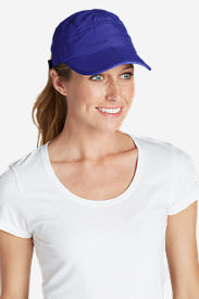 Women's Resolution Packable UPF Cap in Blue