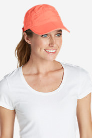 Women's Resolution Packable UPF Cap in Red