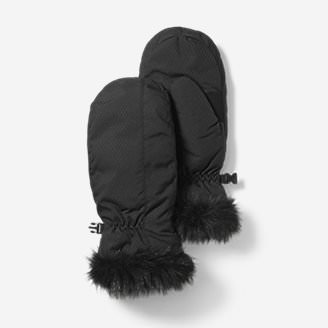 Women's Sun Valley Down Mittens in Black