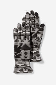 Women's Quest Fleece Gloves in Gray