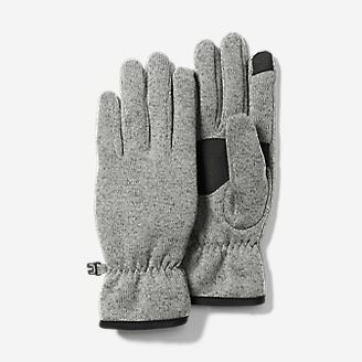 Women's Radiator Fleece Gloves in Gray