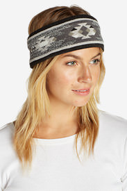 Women's Slope Side Headband in Gray