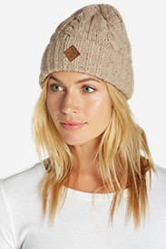 Fairview Beanie in Beige