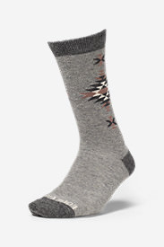 Women's Crew Socks in Gray