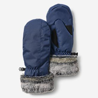Women's Superior Down Mittens in Blue