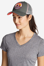 Unisex Graphic Hat in Gray