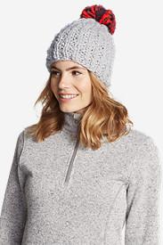 Women's Notion Pom Beanie in Gray