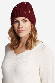 Women's Westbridge Beanie in Red