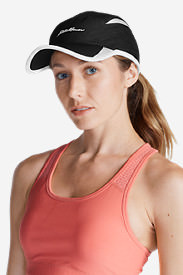 Women's Active Cap in Black