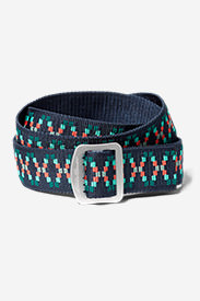 Women's Horizon Jacquard Belt in Blue