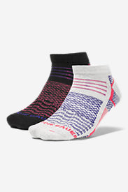 Women's Active Pro CoolMax Low Profile Socks - 2 Pack in Red