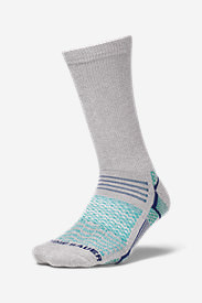 Women's Active Pro COOLMAX® Crew Socks in Blue