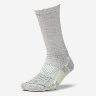 Women's Active Pro COOLMAX Crew Socks in Blue