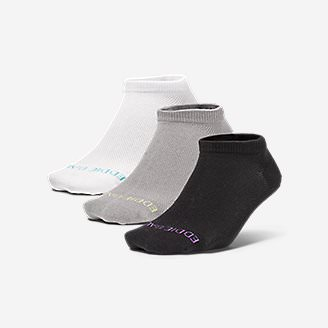 Women's COOLMAX® Mesh Socks - 3 Pack in Gray