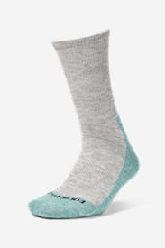 Women's COOLMAX® Trail Crew Socks in Blue