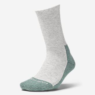 Women's COOLMAX Trail Crew Socks in Green