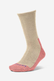Women's COOLMAX Trail Crew Socks in White