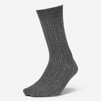 Women's Essential Crew Socks in Gray
