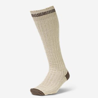 Women's Boot Socks in White