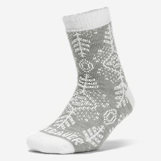 Women's Fireside Lounge Socks in Gray