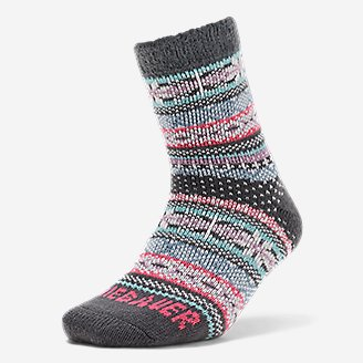 Women's Fireside Lounge Socks in Gray