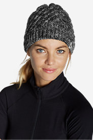 Women's Telemetry Beanie in Gray