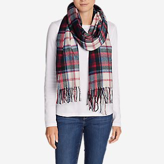 Women's Stine's Favorite Flannel Woven Scarf in Beige