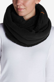 Women's Quest Fleece Loop Scarf in Gray