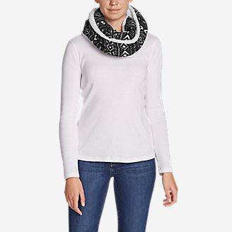 Women's Quest Fleece Loop Scarf in Gray