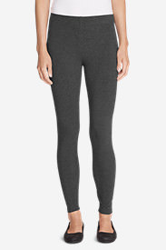 Women's Classic French Terry Leggings in Gray