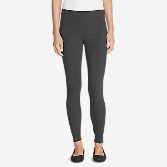 Women's Classic Jersey Leggings in Gray