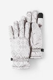 Women's Lodge Down/ThermaFill® Gloves in Gray
