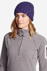 Women's Notion Beanie in Purple