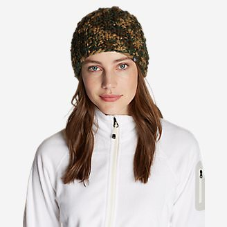 Women's Notion Beanie in Green