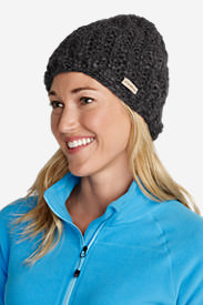 Women's Notion Beanie in Gray